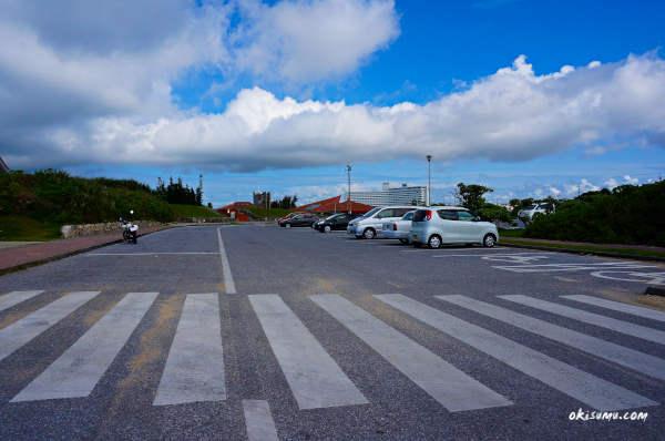 残波岬 駐車場