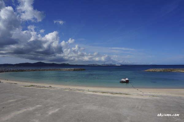 宇堅ビーチ 左側のビーチ