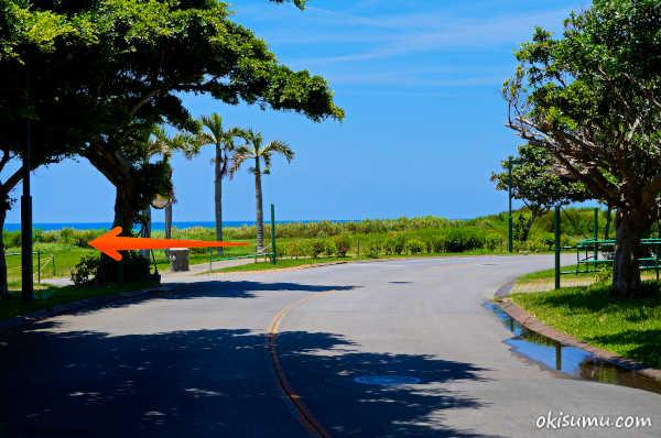 カナイビーチへの行き方