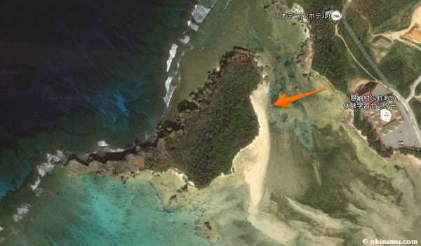 恩納村の無人島への行き方