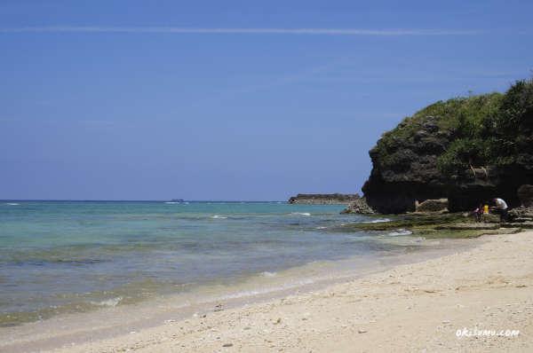 読谷村の穴場ビーチ