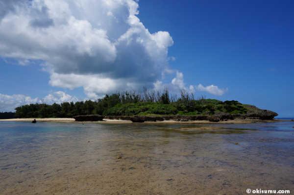 恩納村 無人島