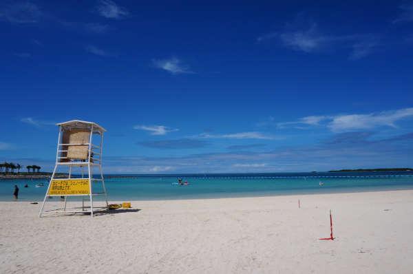 エメラルドビーチ 遊びの浜