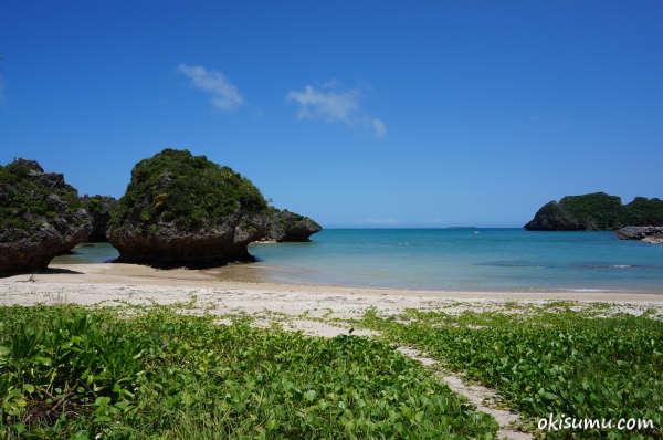 浜比嘉島の穴場ビーチ