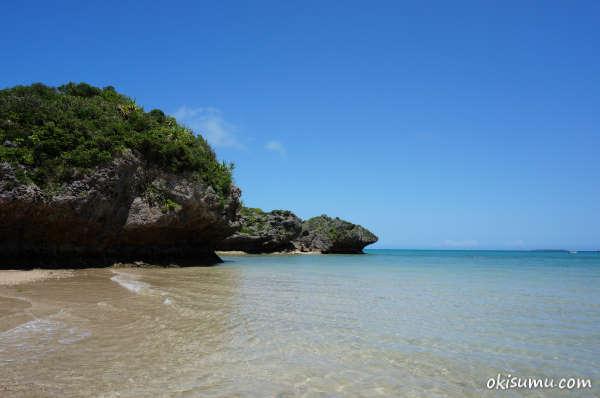 浜比嘉島 穴場ビーチ