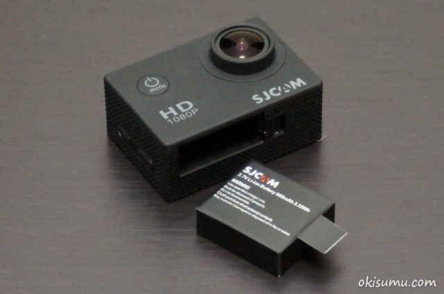 SJ4000 バッテリー